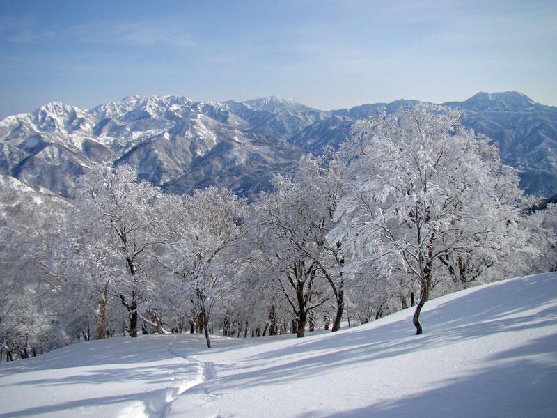 妙高連峰や黒姫山