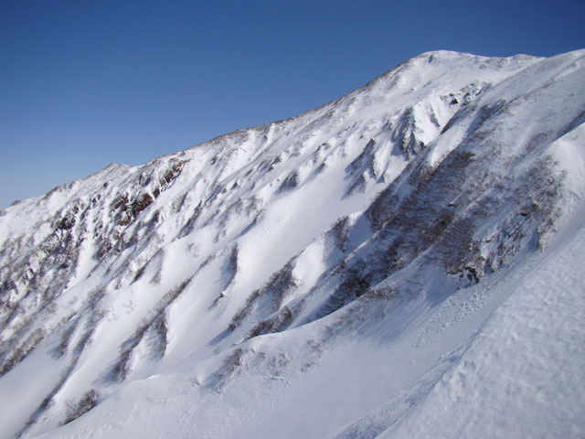 火打山と北面ルンゼ