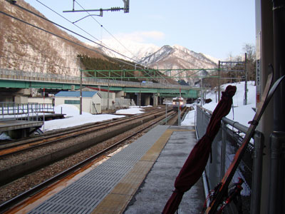 上越線下り電車