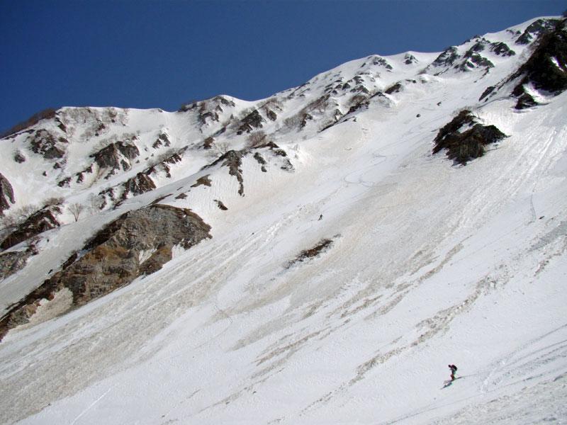 杓子からもスキーヤーが