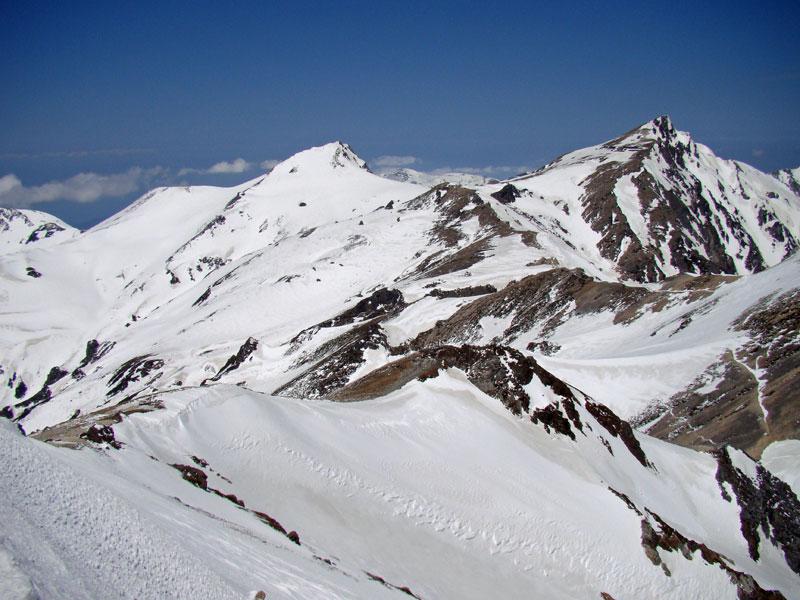 旭岳~清水谷を振り返る