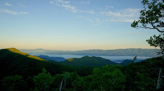 伊那谷は雲海の下