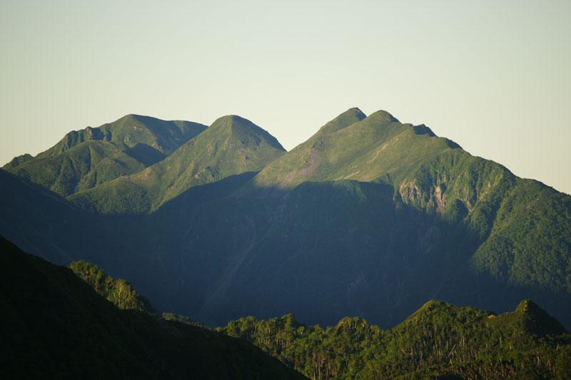 兎岳、中盛丸山、大沢岳