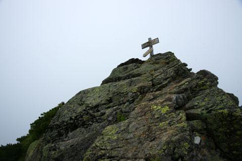 アサヨ峰の山頂