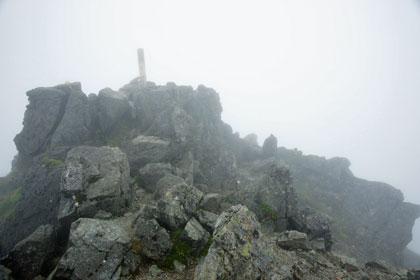 塩見岳の東峰