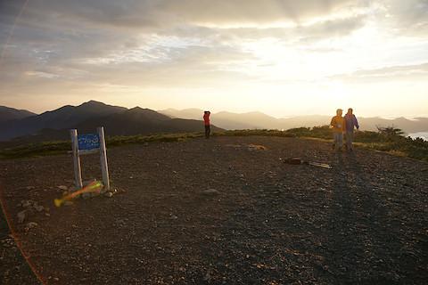 イザルヶ岳の山頂