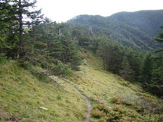喜望峰への登り