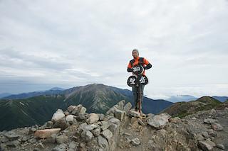 視界のある聖岳に登頂!
