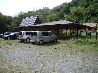 便ヶ島のキャンプ場