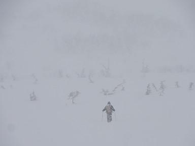 白馬乗鞍岳を目指す