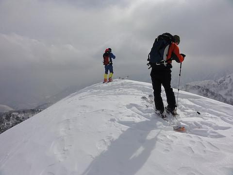 籾糠山の山頂