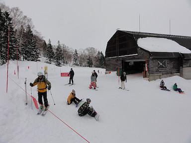 杉ノ原スキー場・ゲレンデトップ