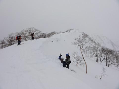 外輪山の稜線