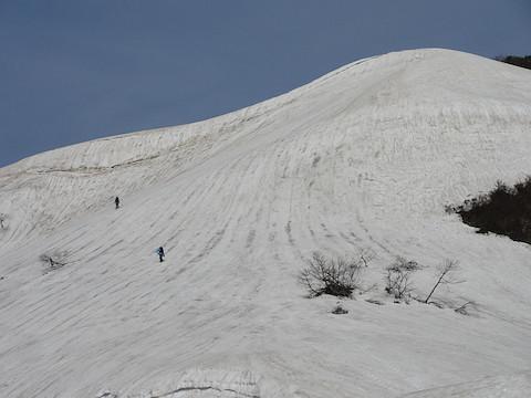 小倉山への登り