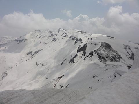 守門岳本峰