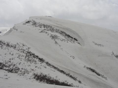 中津又岳から見た大岳