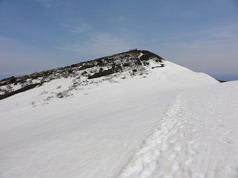 もうすぐ浅草岳の山頂