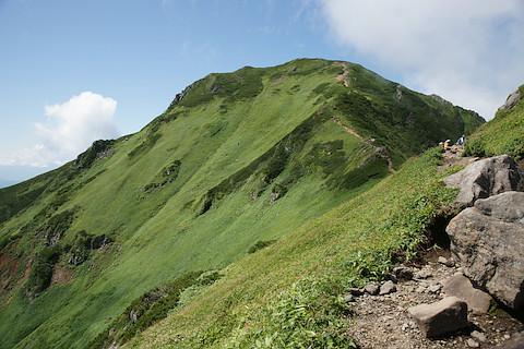 もうすぐ富良野岳の山頂