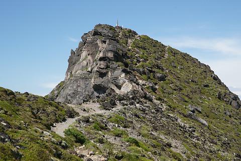 美瑛岳山頂はもうすぐ