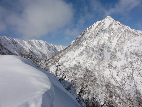 三田原山と妙高山