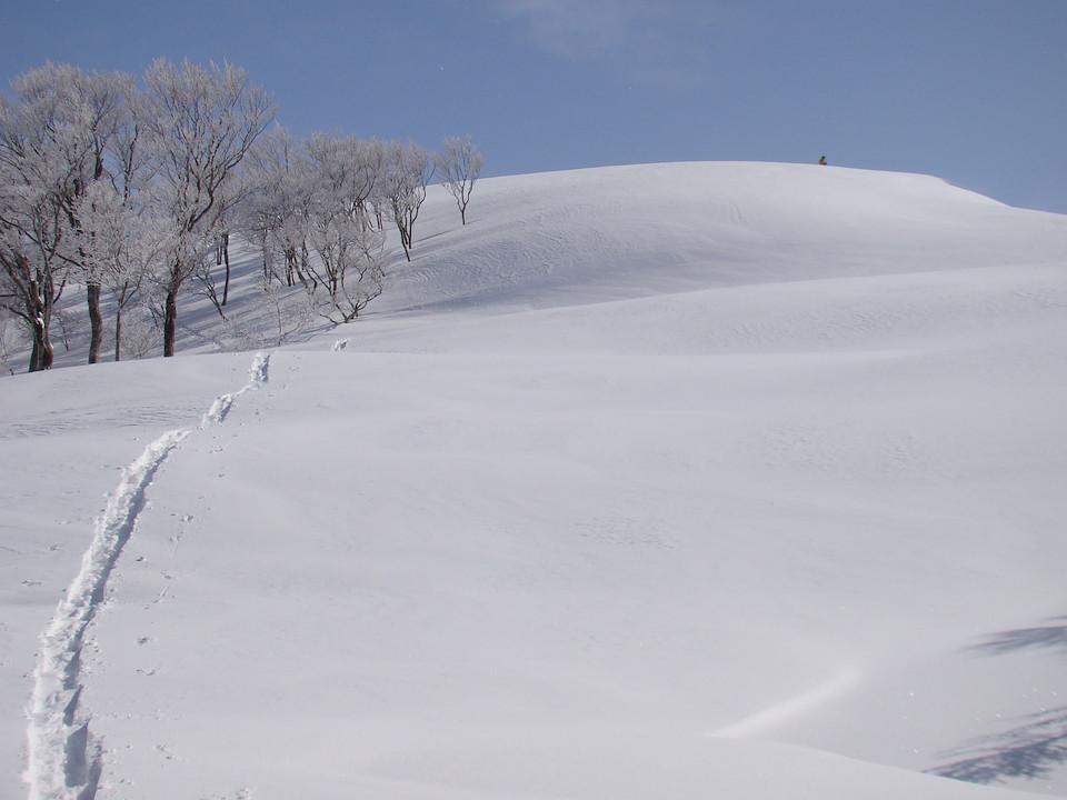 もうすぐ東谷山の山頂