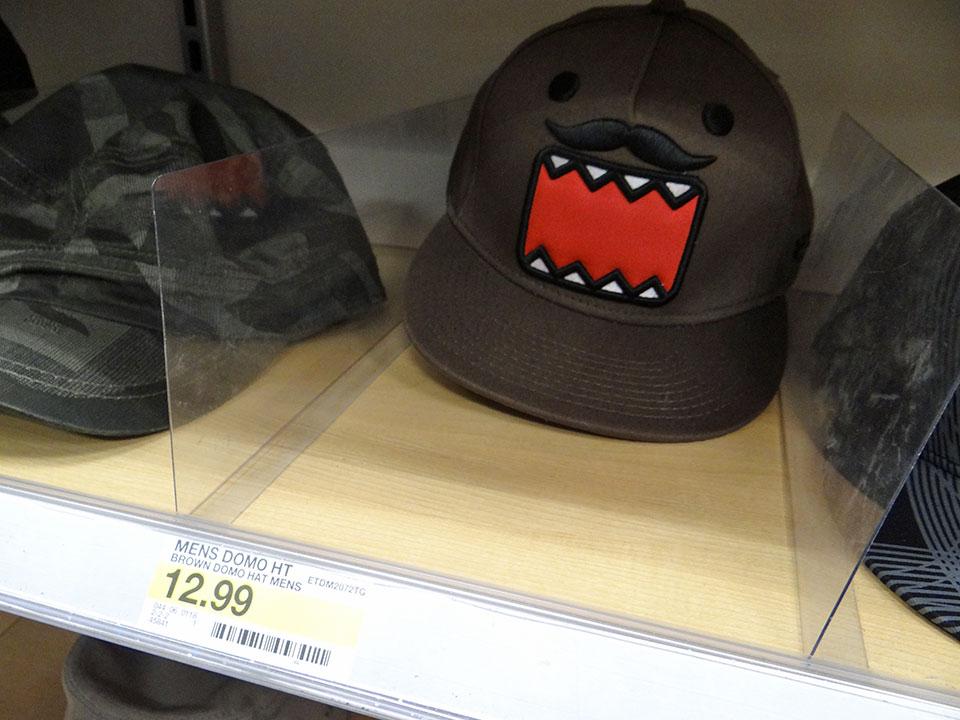 どーも君の帽子