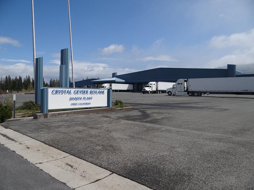 クリスタルガイザーの工場