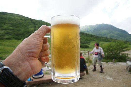 生ビールがウマい