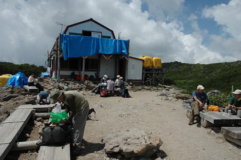 2006年の雲ノ平山荘