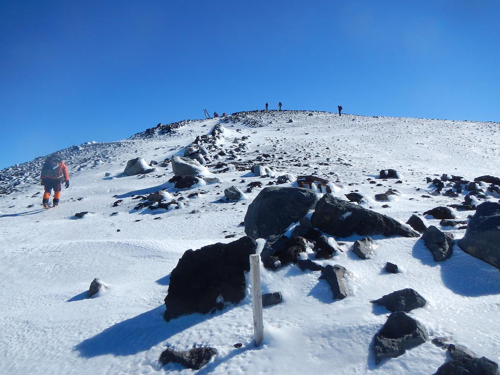 大日岳へ登る
