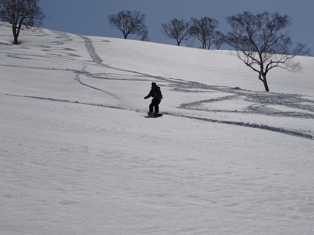 スノーボードはモナカに強し
