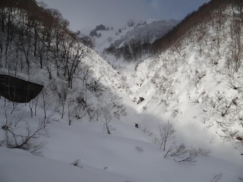 右俣出合の滝