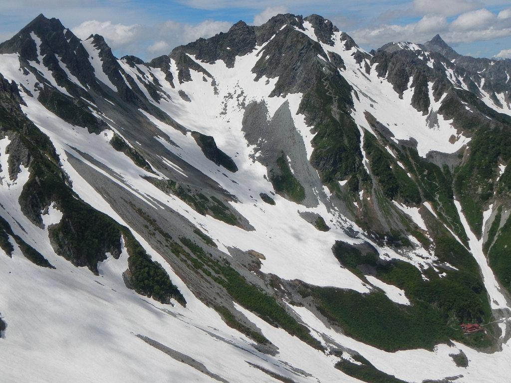 4峰肩からの眺め